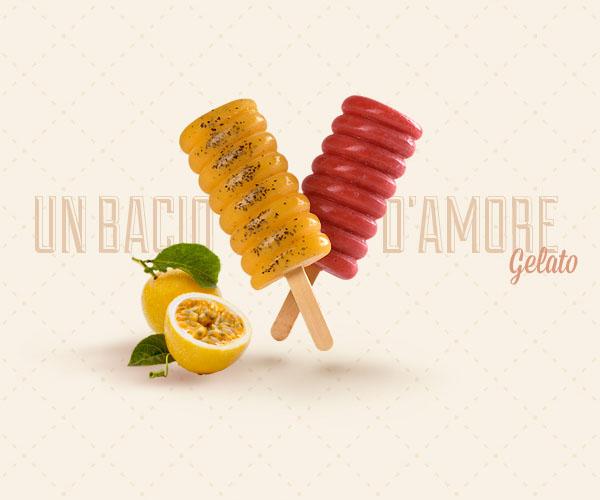 Gelatos feitos com muito carinho e com o verdadeiro sotaque italiano